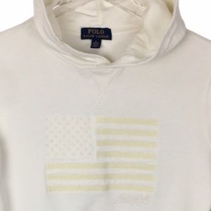 POLO USA Flag Pride Stars Stripe Sweatshirt Cotton
